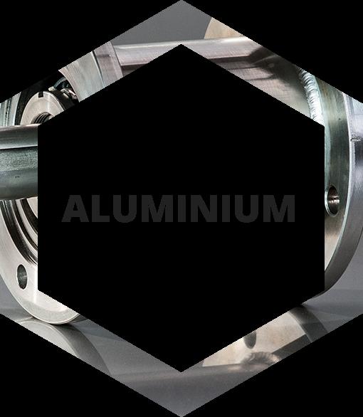 rkstalheksagon aluminium