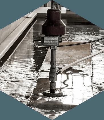 rkstalWATERJET Ciecie strumieniem wody